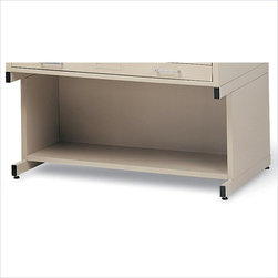 """Mayline - Mayline C-Files High Base for 24 x 36 Size File-Gray - Mayline - Accessories - 7877P5 - 20"""" High Base with Bookshelf for 24"""" x 36"""" size file (Model #'s 7867C & 7977D)"""