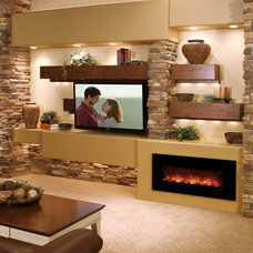 Modern  by NYC Fireplaces and Outdoor Kitchens