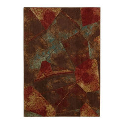 """Nourison - Transitional Somerset 7'9""""x10'10"""" Rectangle Multi Color Area Rug - The Somerset area rug Collection offers an affordable assortment of Transitional stylings. Somerset features a blend of natural Multi Color color. Machine Made of 100% Polyacrylic the Somerset Collection is an intriguing compliment to any decor."""