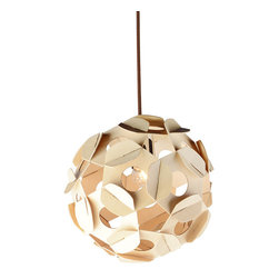 """Magic Plywood Ball Shade Home Pendant Lamp 15.75"""" Diameter - Magic Plywood Ball Shade Home Pendant Lamp 15.75"""" Diameter is handsome, stylish designed, warm allure suitable for living rooms, kitchens, dining rooms and"""