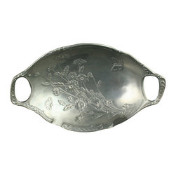 EuroLux Home - Consigned Vintage French Pewter Candy Bowl Dish - Product Details