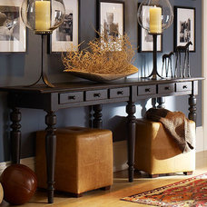 Eclectic  Entryway - pottery barn
