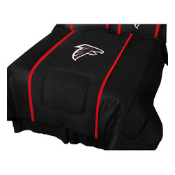 Sports Coverage Inc - NFL Atlanta Falcons Queen Comforter Football MVP Bedding - FEATURES:
