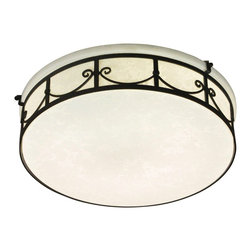 Designers Fountain - Designers Fountain Round Fluorescent Traditional Flush Mount Ceiling Light X-BRO - Designers Fountain Round Fluorescent Traditional Flush Mount Ceiling Light X-BRO-LFC6421