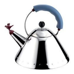 Kettle with Bird Whistle by Alessi -