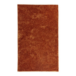 Karastan - Karastan Uber Shag RG935-5010 (Orange) 8' x 11' Rug - Create a soft, luxurious look with Karastan Studio's newest and most stylish shag rug to date. Made of 100% polyester, UBeR Shag is the Ultimate Bedside Rug. Available in 8 vibrant colors, and expertly crafted UBeR Shag combines softness with everyday comfort and durability.