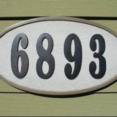Modern House Numbers by BuilderDepot, Inc.
