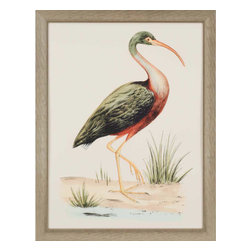 Paragon - Water Bird I - Framed Art - Each product is custom made upon order so there might be small variations from the picture displayed. No two pieces are exactly alike.