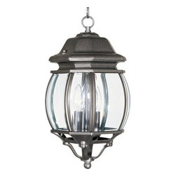 Maxim Lighting - Maxim Lighting 1036RP Crown Hill 3-Light Outdoor Hanging Lantern In Rust Patina - Features