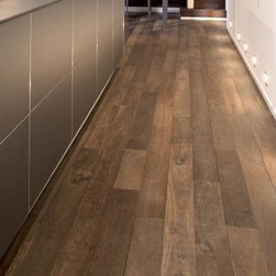 """French Oak Collection - Le Chatel- Francois & Co. - Solid parquet wood floors made from French Oak. Pre-finished and ready to install with a beautiful """"sawn"""" and oiled finish."""