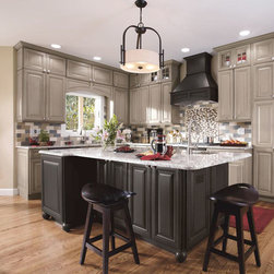 Gray Kitchen Cabinets - Decora Cabinetry -