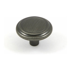 Stone Mill Hardware - Stone Mill Hardware Weathered Nickel Sidney Cabinet Knob - Stone Mill Hardware - Weathered Nickel Sidney Cabinet Knob
