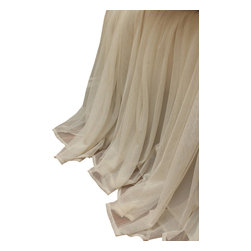 Couture Dreams - Couture Dreams Whisper Ivory Bed Skirt - Couture Dreams Whisper Ivory Bedskirt, beautiful....gathered.....tailored