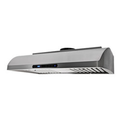 """Proline - Proline PLJW 117 Under Cabinet Range Hood, 48 - Professional Range Hood Model PLJW 117.30 With EZ Touch Electronic Controls, Timer, 4 Speed, 900 CFM & Stainless Steel Baffle Filters! (900 cfm blower included)  Brand New Model! Same Reliable Blower and Controls as our popular PLJW 113 model. One of our """"Low Profile Series that is only 8"""" High. This range hood has a very graceful and elegant curve on each side from the back to the front. Unique and definitely makes a statement.  Built for the most demanding applications this hood is Designed to be used! Stainless Baffle Filters that are easy to remove, and the quietest 385 CFM setting in the industry. (Based on comparable size and dual local blower capacity). 900 CFM total capacity with Elegant and Efficient """"Time Delay"""" Touch Controls. This Range Hood comes with blower and fan completely installed, and factory tested. This makes the installation one of the easiest in the industry."""