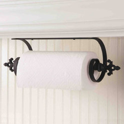Under-Cabinet Mount Paper Towel Holder