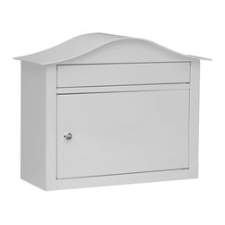 The Lunada - The Lunada offers the classic lines of the Peninsula with a smooth painted finish for a look that's clean and elegant. Constructed out of heavy gauge steel thats powder coated, the Lunada will provide years of use. Sizeable mail slot allows for delivery of checks, catalogs and magazines while the large locking compartment keeps mail safe. To find a dealer near you please visit: http://www.architecturalmailboxes.com/where-to-buy/default.aspx