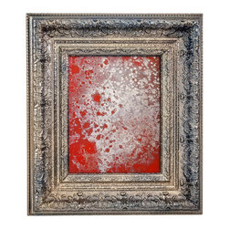 Art Dallas, Incorporated - Art Dallas Antique Mirror - Firecracker - An Art Dallas handcrafted Antique Mirror framed with our Flash® molding.