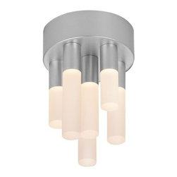 Sonneman - Sonneman | Staccato 6-Light LED Flush Mount - Design by Robert Sonneman.