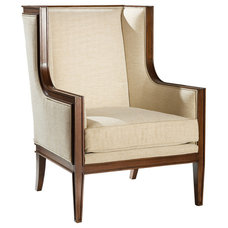 Traditional Armchairs by Kathy Kuo Home