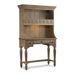 Hooker Furniture - Hooker Furniture Primrose Hill Organizer Hutch 5057-75902 - Turn-of-the-century charm combines with urban energy to create a timeless design of warmth and tradition. Includes Hooker Furniture Primrose Hill Organizer Hutch 5057-75902 only.