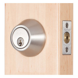 Miseno - Miseno MHDW600-SN Keyed-Entry Single Cylinder Deadbolt Set Satin Nickel - Keyed-Entry Deadbolt Includes: