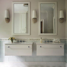 Contemporary Bathroom by Liz Caan Interiors LLC