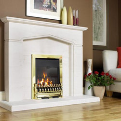Kinder Oasis HE Gas Fire - The premium fire in the Kinder Gas Fire range, the Kinder Oasis HE is glass-fronted and designed to be fitted into a standard fireplace opening. The Kinder Oasis HE boasts an amazing 89% efficiency & 4kW output, ensuring optimum heat output & cost efficiency. A large range of exclusive trims & frets available in brass, black or silver and the fire has control options including Slide Control and Remote Control.
