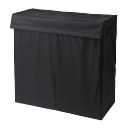 IKEA of Sweden - SKUBB Laundry bag with stand - Laundry bag with stand, black