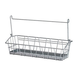 IKEA of Sweden - Bygel Wire Basket - This can be hanging storage or left on the desk.