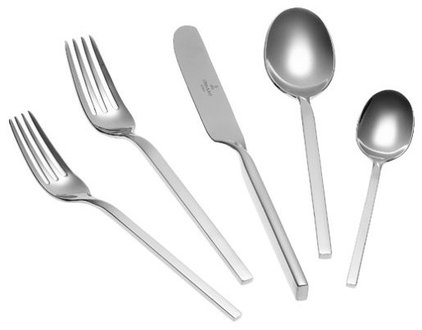 Modern Flatware And Silverware Sets by Amazon