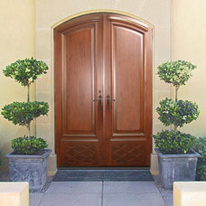 Asian Furniture Designer Custom Hardwood Doors