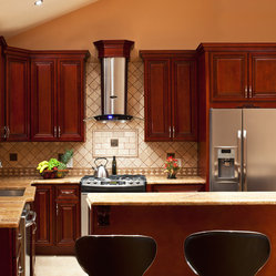 Cherry Hill - Cherry Collection - RTA All Wood Kitchen Cabinets