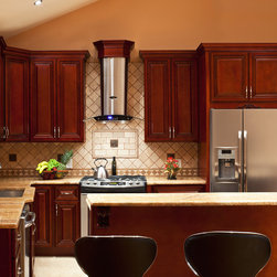 Cherry Hill - Cherry Collection - RTA All Wood Kitchen Cabinets - lowpricekitchens.com