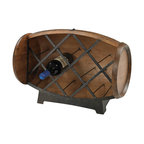 Sterling Industries - Sterling Industries 51-10094 Half Barrel Wine Rack - Wine Rack (1)