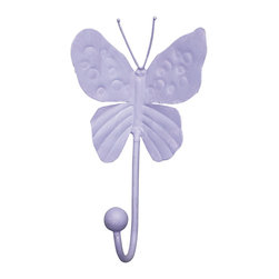 Jubilee Collection - Butterfly Hook in Lavender - Butterfly Hook in Lavender