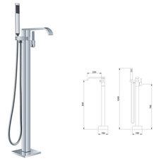 Modern Showers by bathandbedgoods