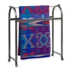 Enclume - Classic Quilt Rack Hammered Steel - Dimensions: 34 x 33 x 11 inches