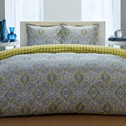 City Scene Milan Reversible Comforter Bedding Set