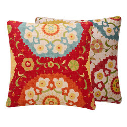 Fiesta Infusion Collection Decorative Throw Pillow l Chloe and Olive - Chloe & Olive