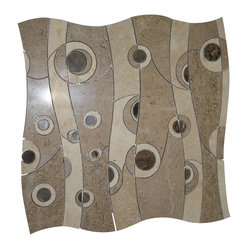 Highland Moonglow Travertine Marble Tile