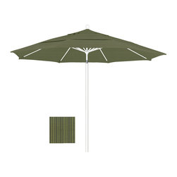 California Umbrella - 11 Foot Olefin Fabric Aluminum Pulley Lift Patio Market Umbrella, White Pole - California Umbrella, Inc. has been producing high quality patio umbrellas and frames for over 50-years. The California Umbrella trademark is immediately recognized for its standard in engineering and innovation among all brands in the United States. As a leader in the industry, they strive to provide you with products and service that will satisfy even the most demanding consumers.