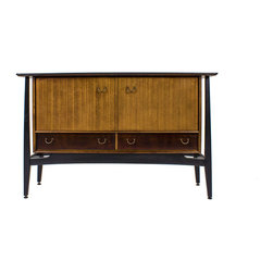 G Plan Librenza Mid Century Credenza with External Floating Legs - Maker: G Plan