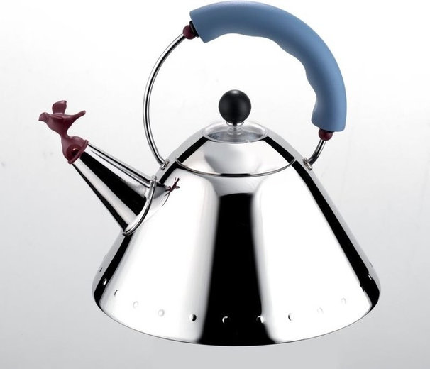 Modern Kettles by ALESSI