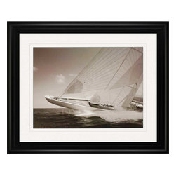 Paragon - Sea Spray II - Framed Art - Each product is custom made upon order so there might be small variations from the picture displayed. No two pieces are exactly alike.