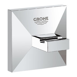 Grohe - Grohe 40498-000 Allure Brilliant Robe Hook - This Allure Brilliant Robe Hook (40498) Comes With All The Necessary Mounting Hardware, And Has A Brilliant, Starlight Chrome Finish.