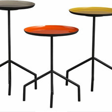 eclectic side tables and accent tables by CB2