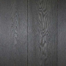 Montaigne Collection Charleroi Wood Floors - The way this oak takes the dark stain really makes a statement. Using dark wood floors in a home really grounds the rest of your design choices.