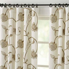 Craftsman Curtains by Crewel Fabric World by MDS