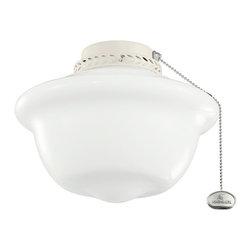 Kichler - Kichler 380065ADC 10 Inch School House Light Fixture - Kichler 380065ADC 10 Inch School House Light Fix