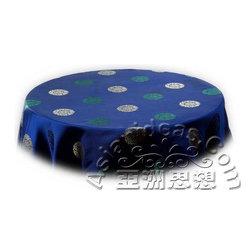 Japanese Tableware - Blue Longevity Table Cloths features: